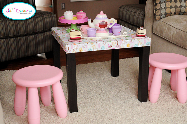 15 Cool DIY Kids Tables From IKEA  Kidsomania