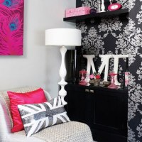 Pink And Black Bedroom Ideas | Home Decorating Excellence