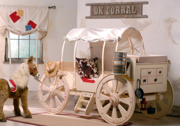 Inspiring Ideas For Creating A Really Unusual Kids Bedroom Design