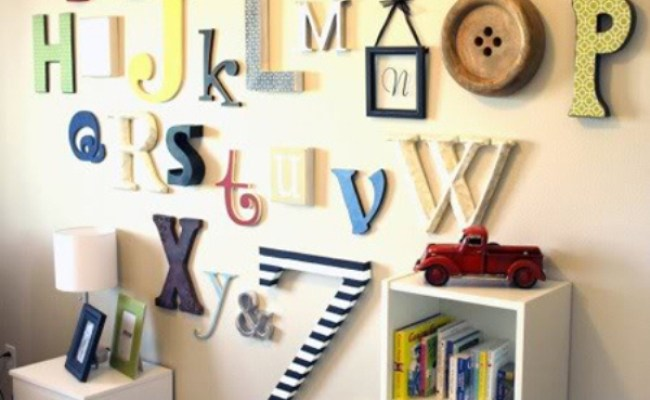 16 Original Wall Decor Ideas For Kids Rooms Kidsomania