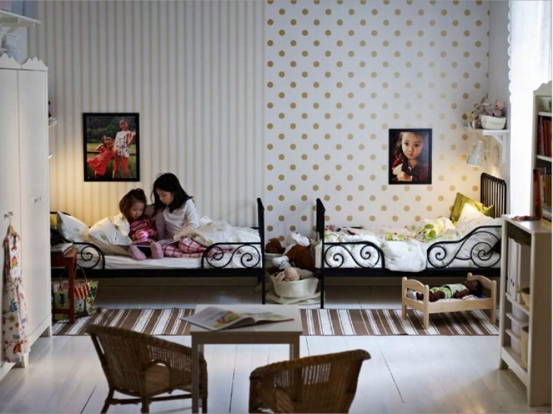 20 Awesome Shared Bedroom Design Ideas For Your Kids  Kidsomania