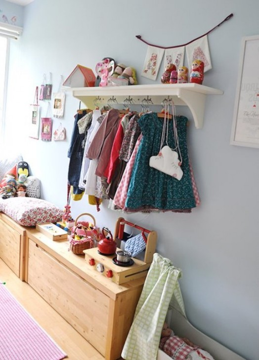 23 Brilliant Storage Solutions For Kids Rooms Without A