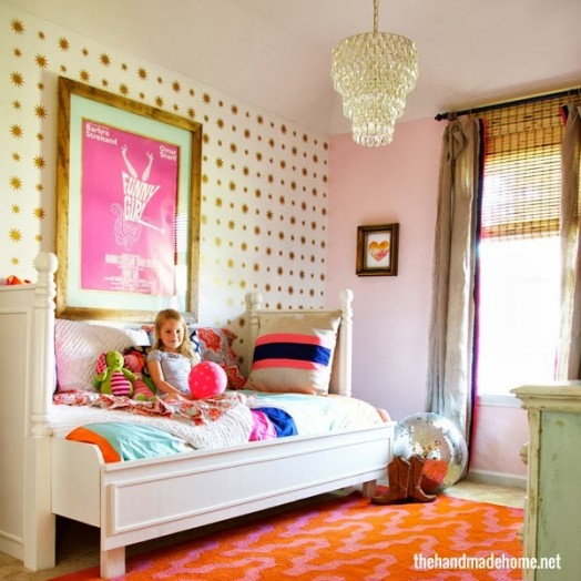 Teen Girl Bedroom One Wall Wallpaper 31 Awesome Eclectic Teen Girls Bedrooms Design Ideas To