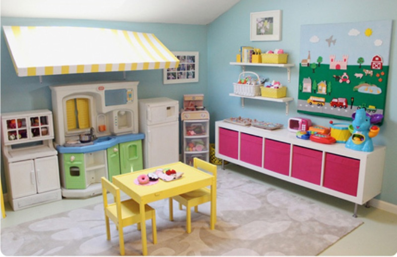 Organizing A Playing Nook With Colorful Kids Kitchen Set From IKEA  Kidsomania