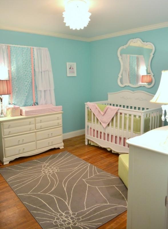 Cool Aqua Design For Nursery  Kidsomania