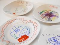 Cool DIY Decorated Ceramic Plates To Make With Kids ...