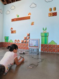 XXL Big Mega Set **SUPER MARIO Bros.** Wall Sticker DS WII ...