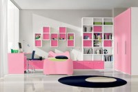 Cool Pink Girls Bedroom Designs from Doimo City Line ...