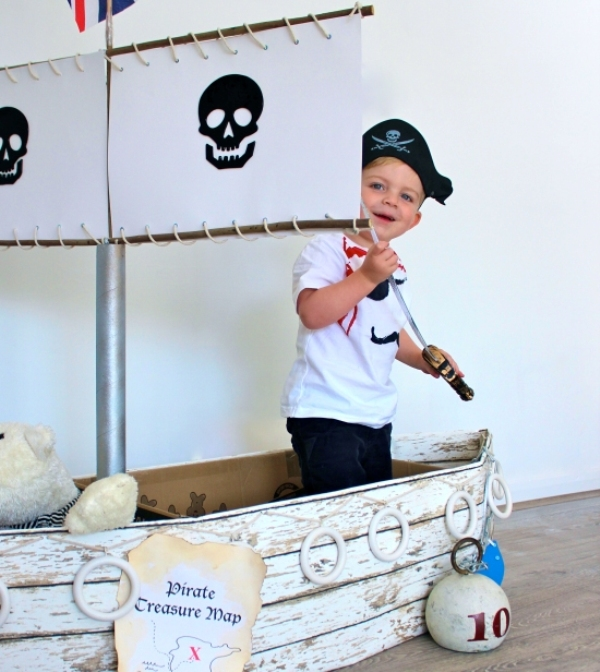 Cute Popsicle Wallpaper Cool Pirate Ship Playing Area For Your Kid S Room Kidsomania