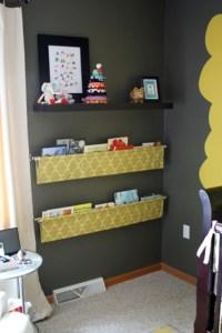 Simple DIY Hanging Kids Book Display | Kidsomania