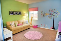 Perfect Kids Playroom Design With Splashes Of Color ...