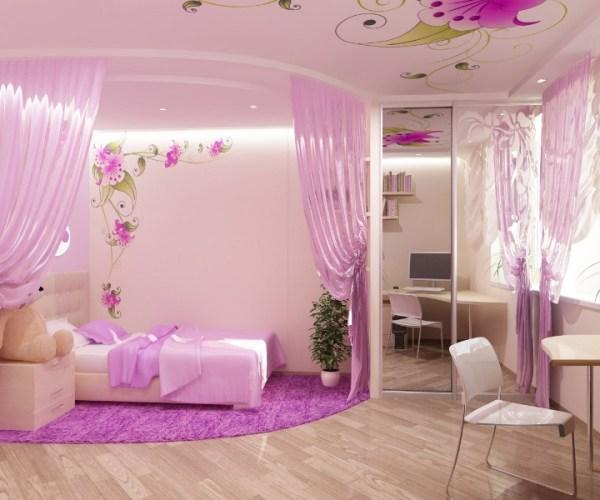 little girl princess bedroom ideas Pink Bedroom Design For A Little Princess | Kidsomania