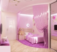 Pink Bedroom Design For A Little Princess