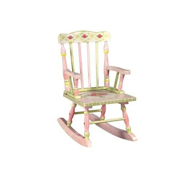 rocking horse chair desk pink dining room chairs 15 ideas for kids' rooms   kidsomania