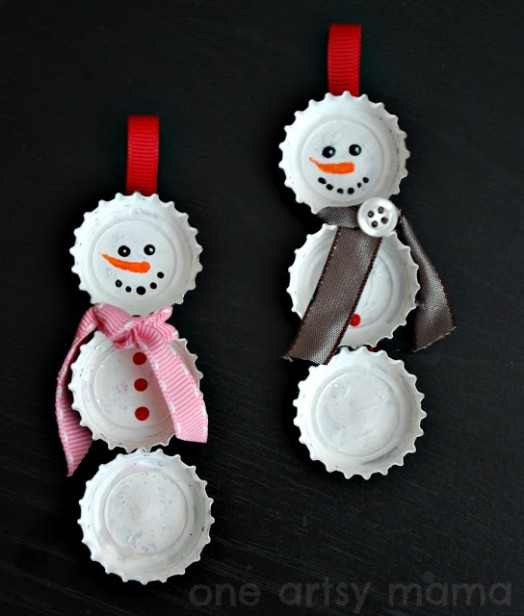 Diy christmas ornaments holiday your home 5 adventure home 25 diy christmas ornament ideas to do with your kids with friends or by solutioingenieria Gallery