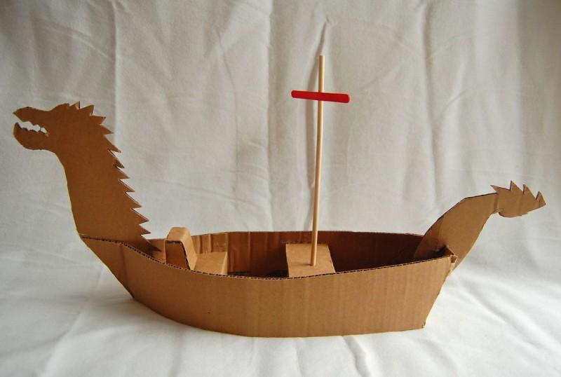 air bag chair office depot mat creative chronicles of narnia inspired diy cardboard boats   kidsomania