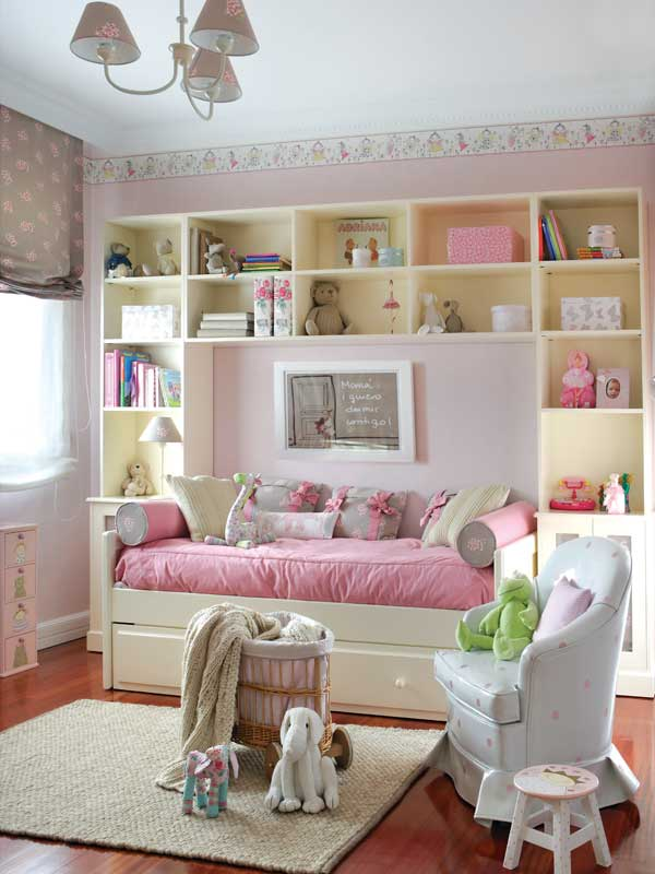 Cute Pink and White Girls Bedroom Decor  Kidsomania