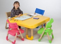 Eco-Friendly Kids Tables and Chairs With Rounded Corners ...