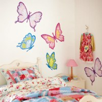 10 Cool Girls Room Wall Stickers