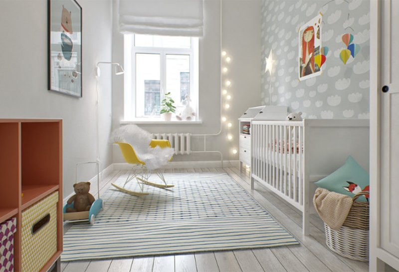 geometric accent chair kids game chairs lovely and light scandinavian style baby's nursery design | kidsomania