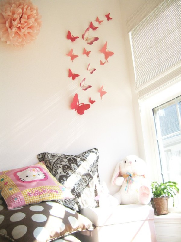 Animal Print Wallpaper For Bedrooms 20 Origami Decor Ideas For A Kids Room Kidsomania