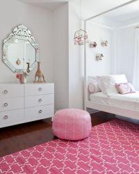 Pink Girls Room Design In Bohemian Style | Kidsomania