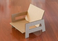 Inspiring How To Make Cardboard Chairs Photo