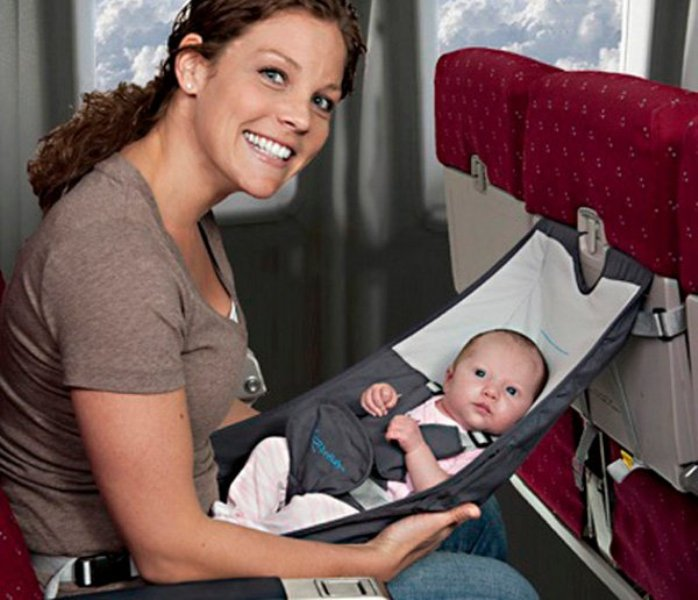 The FlyeBaby Hammock  The Easiest Way To Fly With A Baby