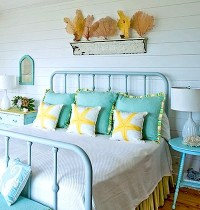 Girls' Beach Theme Bedroom