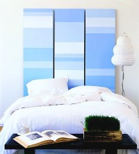 Artistically Painted Tween Headboards | KidSpace Interiors