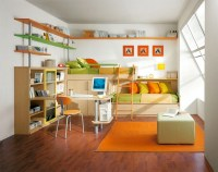 Shared Kids' Room for Two | Cantilever Beds | KidSpace ...