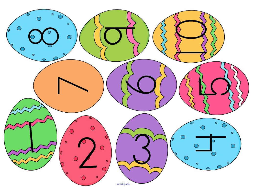Egg Pattern Worksheet