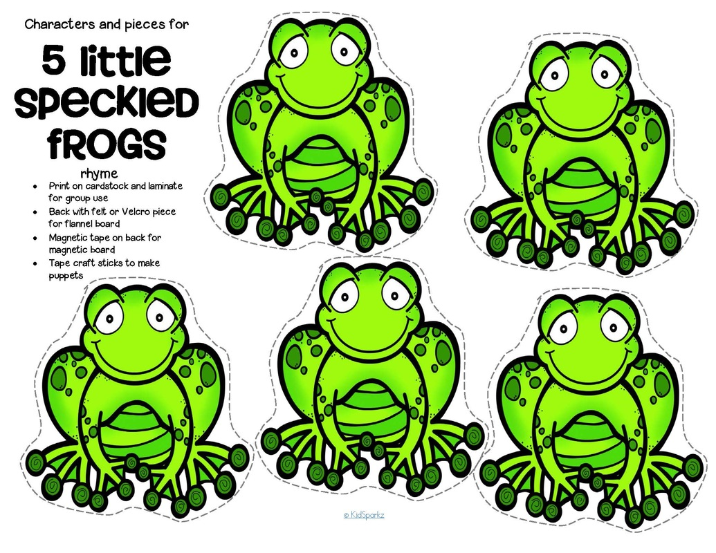 Frogs Theme Activities And Printables For Preschool And