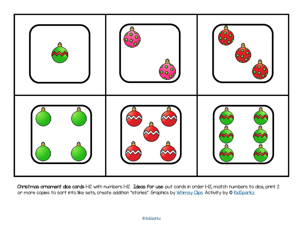 Preschool Christmas Theme Activities And Printables
