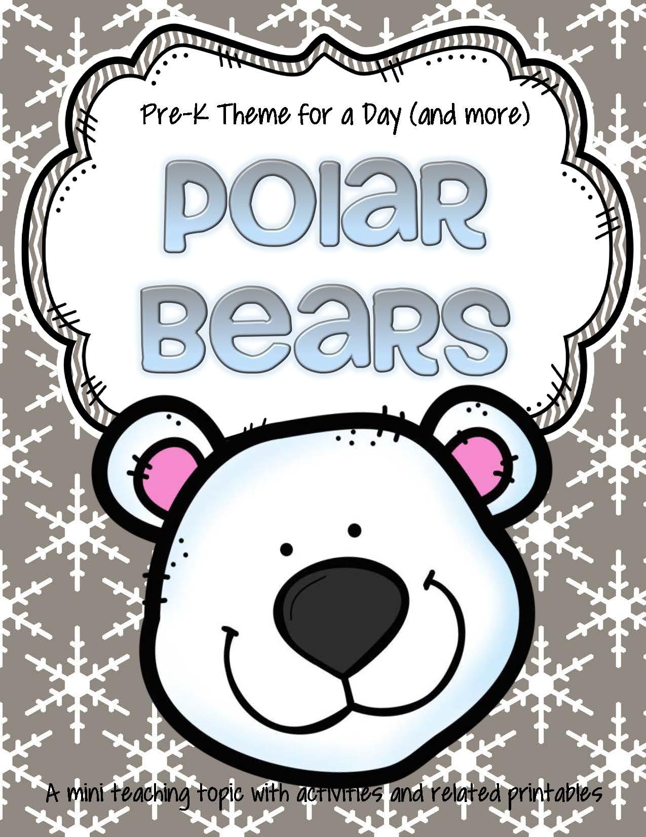 Theme Activities And Printables For Preschool Pre K And Kindergarten