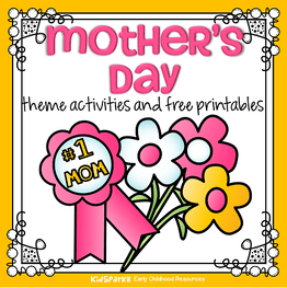 Mother S Day Theme Activities And Printables For Preschool