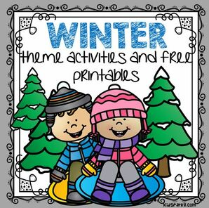 Winter theme activities and printables for preschool kindergarten kidsparkz also rh