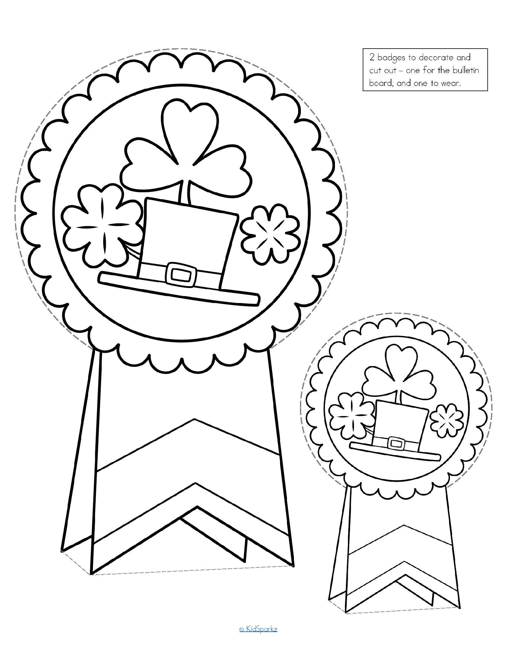 St Patrick S Day Printable Activities No Prep Preschool
