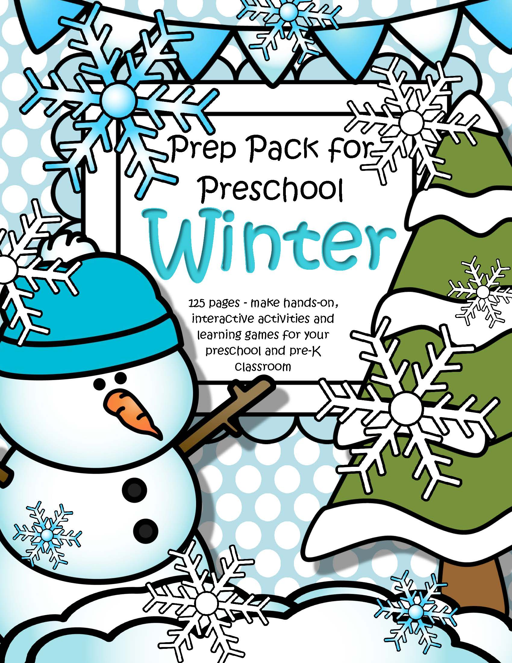 Winter Theme Pack For Preschool