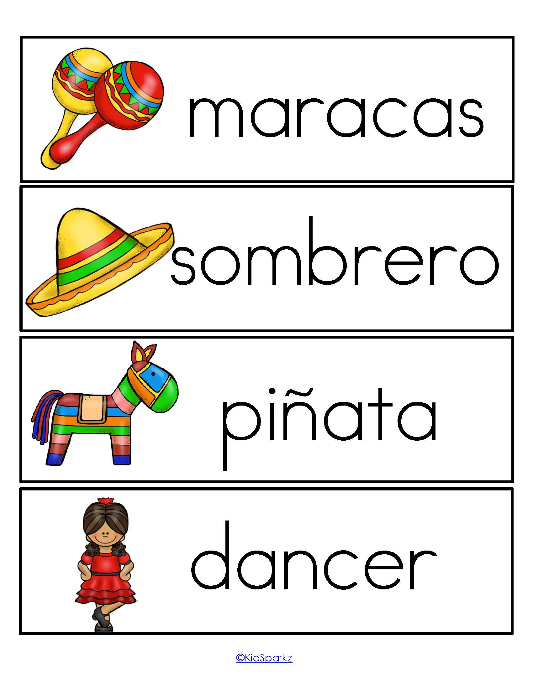 Cinco De Mayo Theme Pack For Preschool