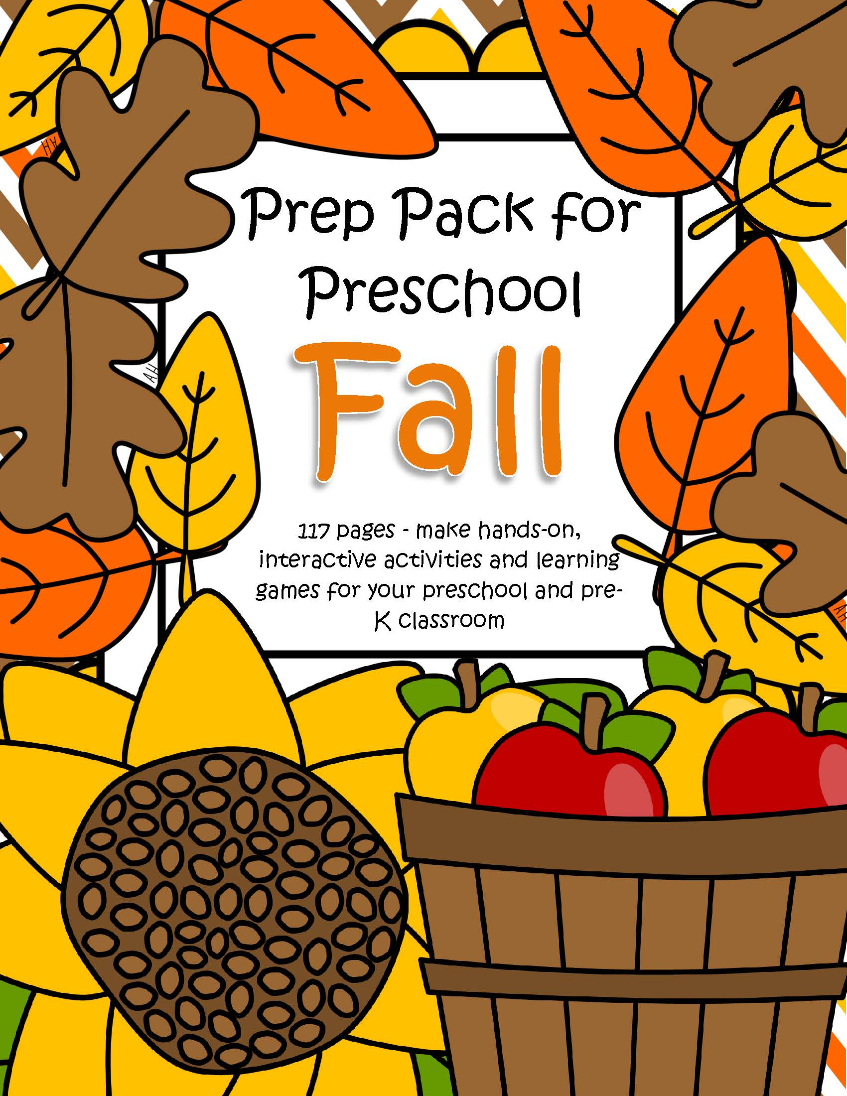 Fall Theme Pack For Preschool And Pre K