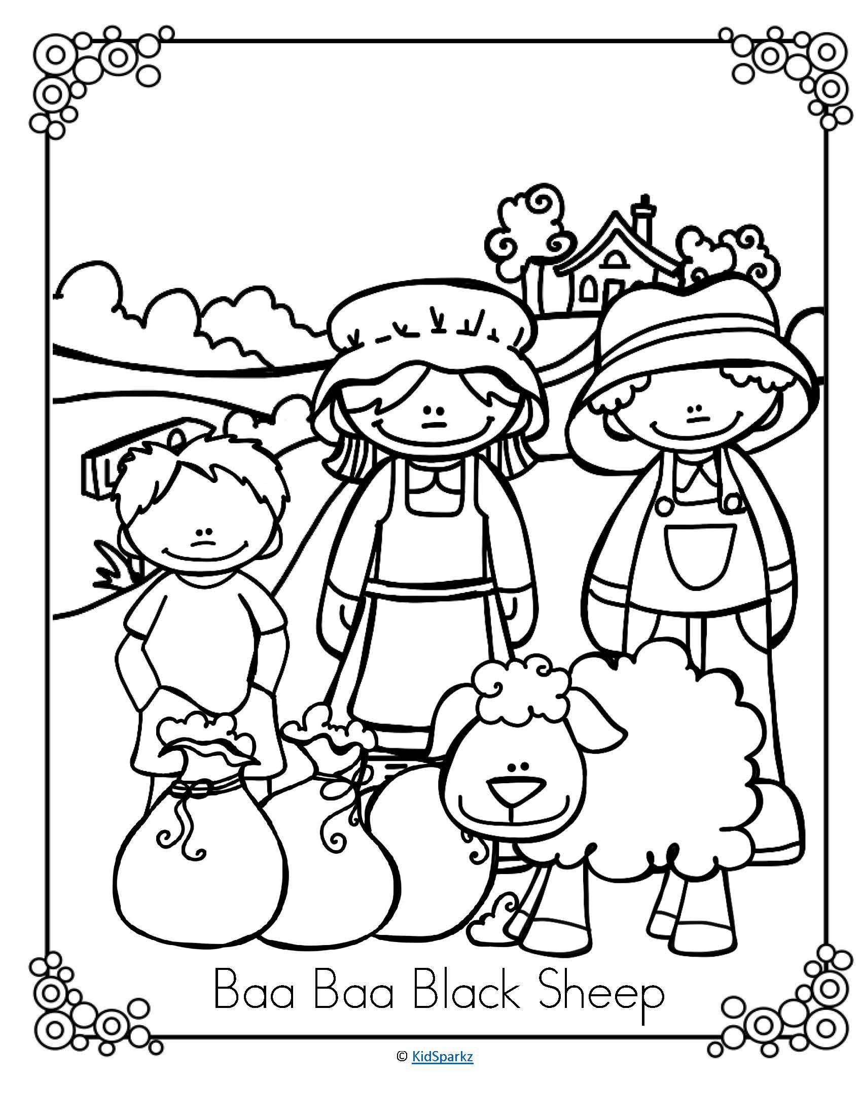 Nursery Rhymes Literacy And Oral Language Activities Pack