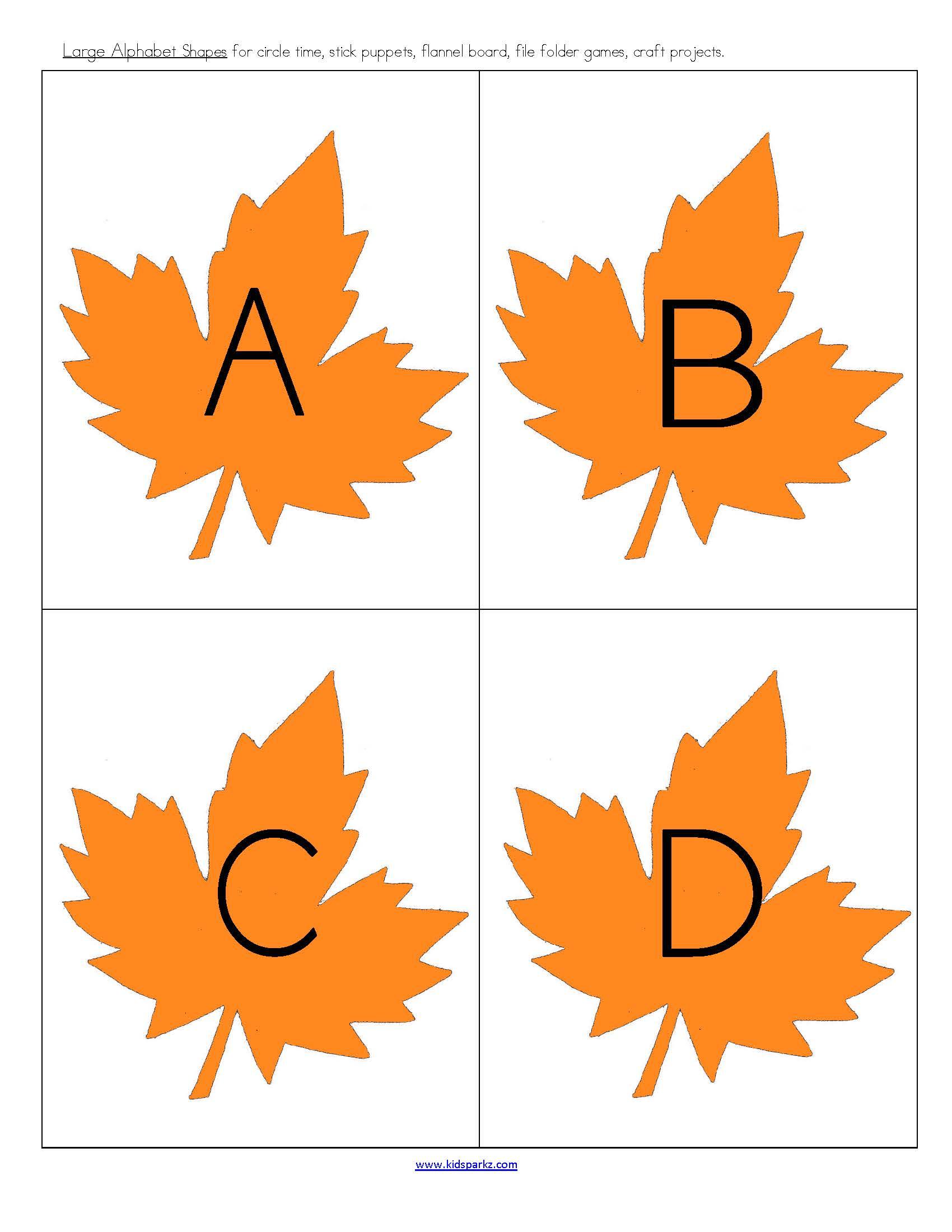 Skillbuilder Fall Leaves Theme