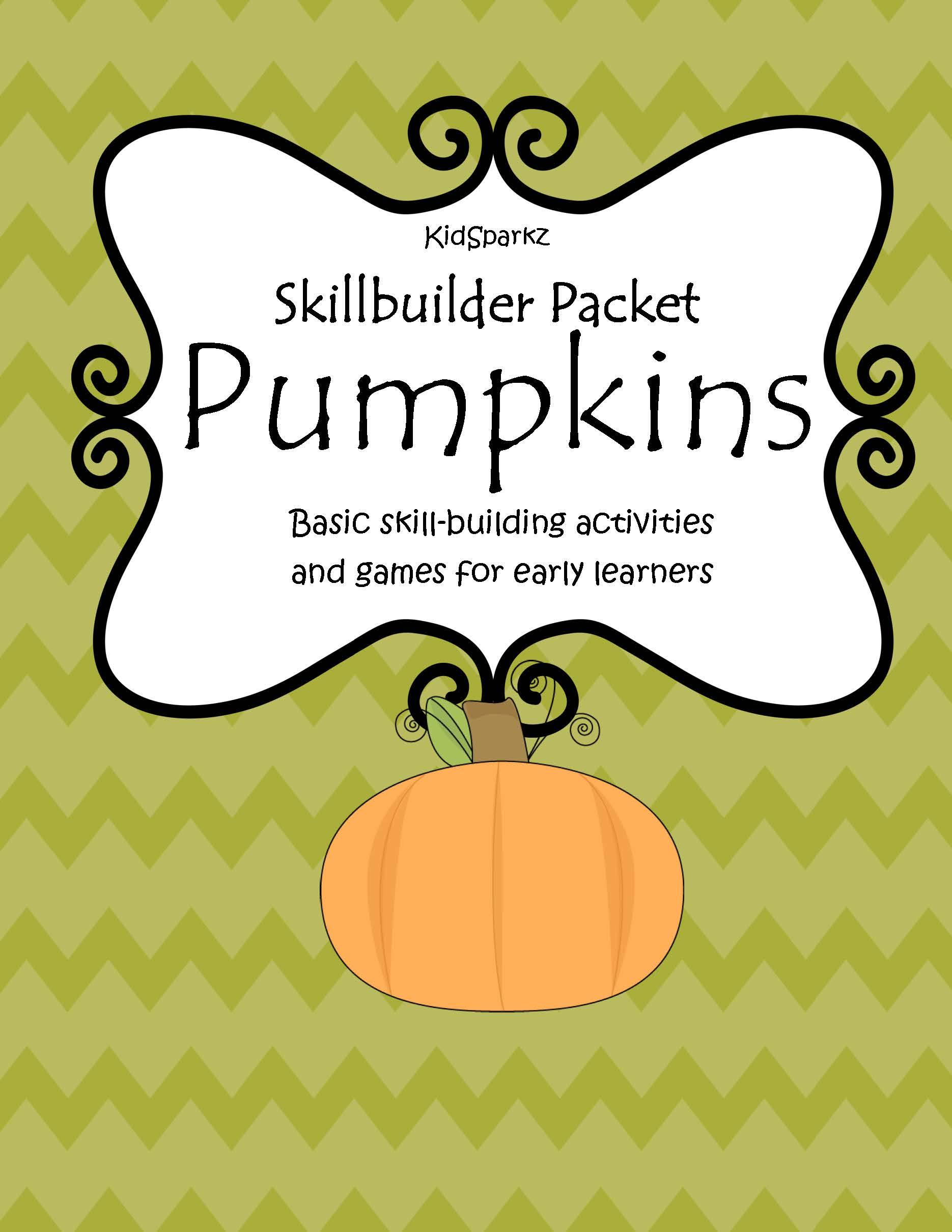 Skillbuilder Pumpkins Theme