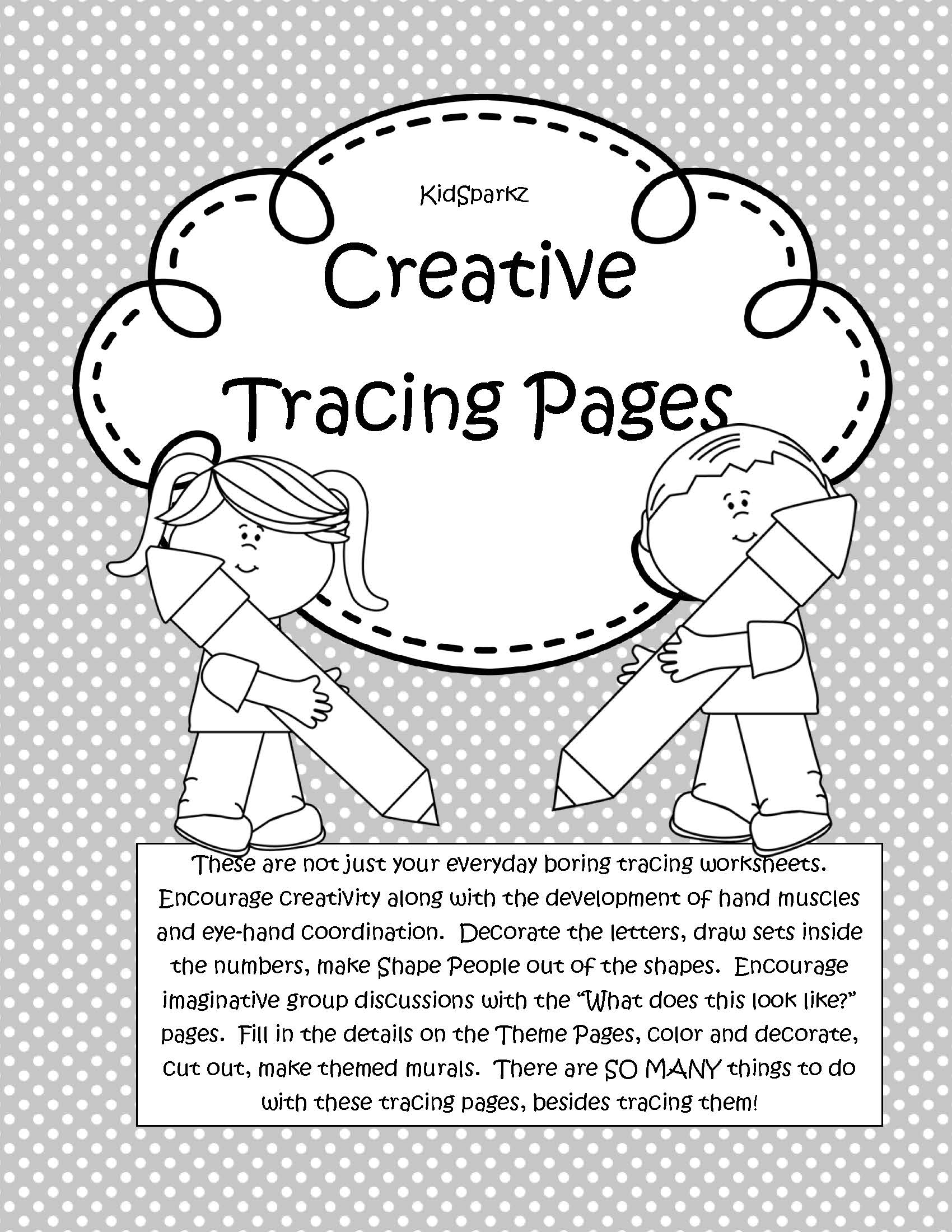 101 Creative Tracing Pages For Preschool And Pre K Letters