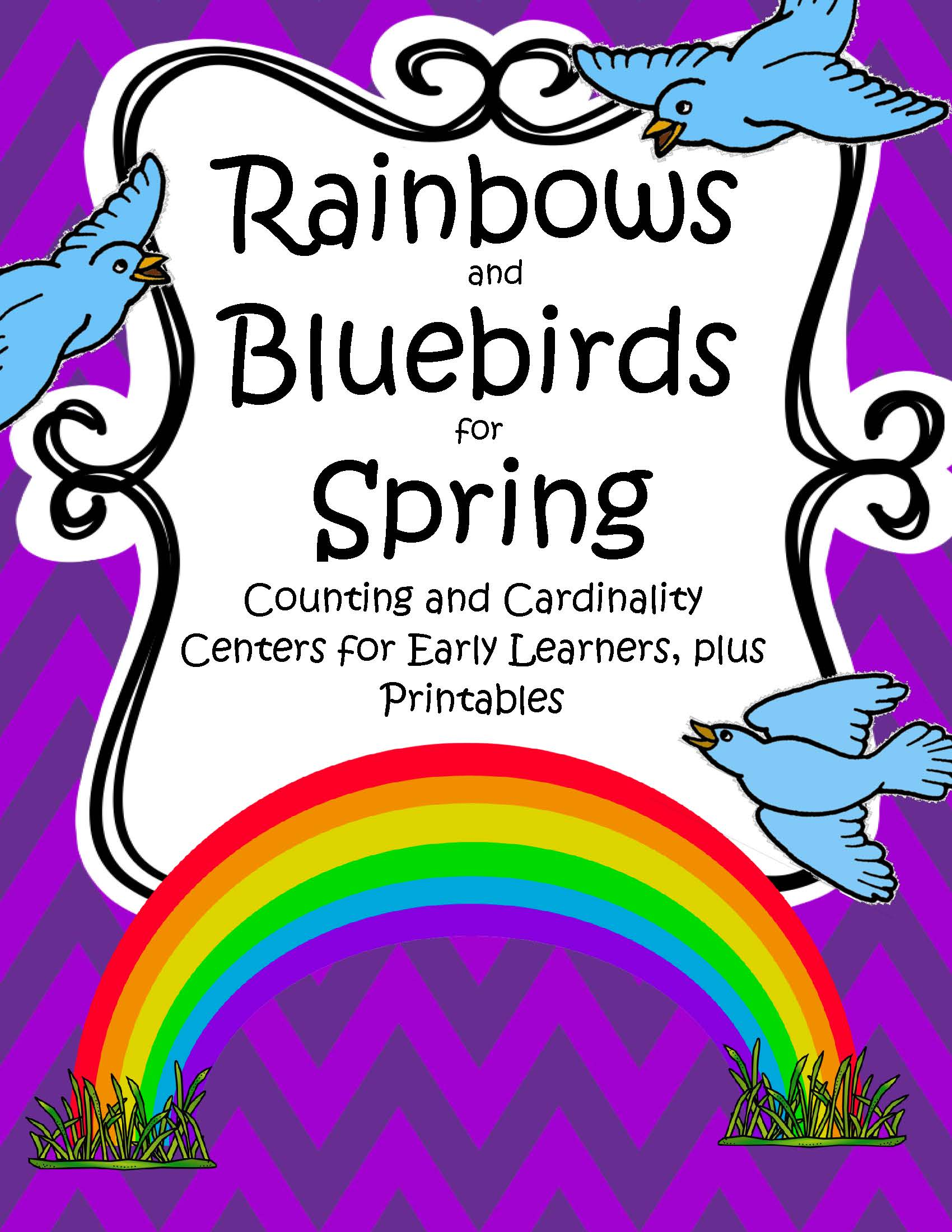 Rainbows And Bluebirds For Spring