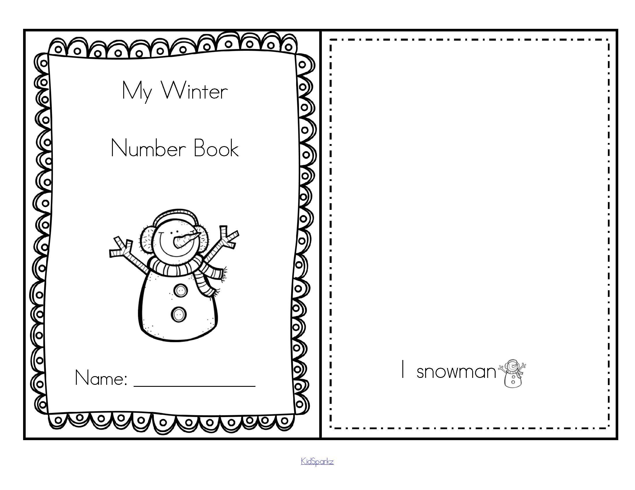 Winter Printables Pack