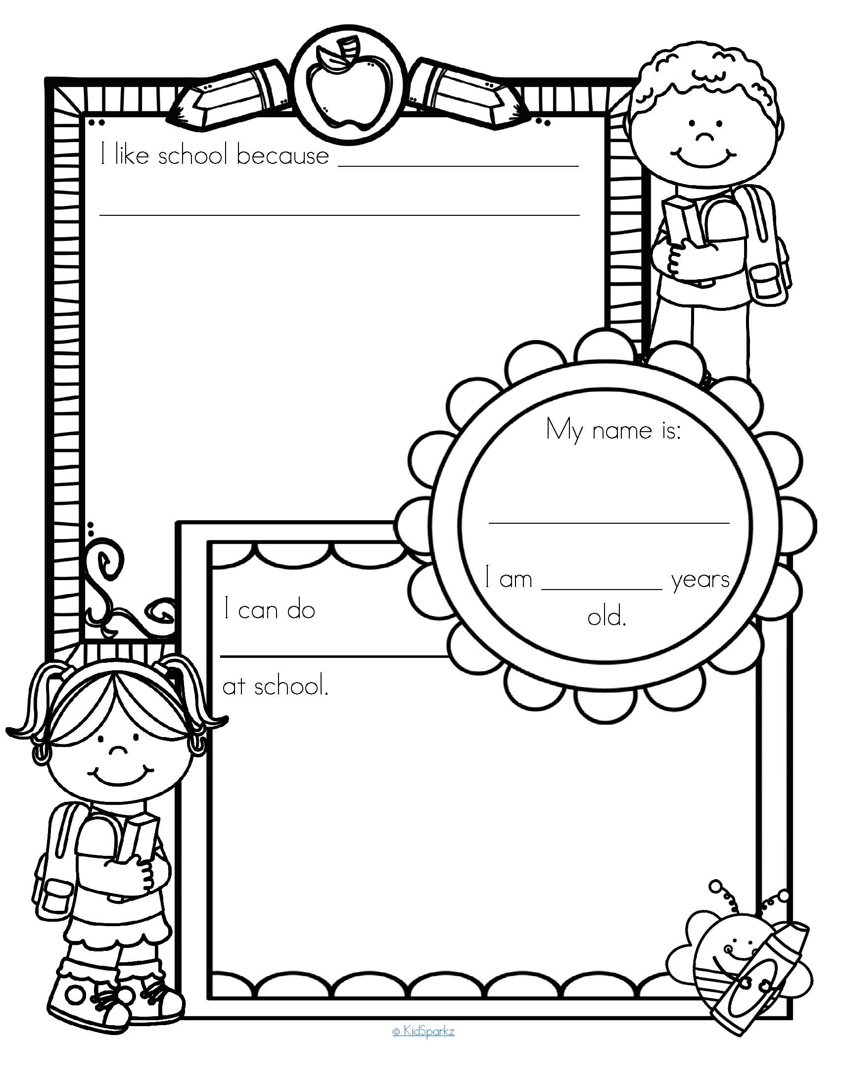 Back To School Printables Pack