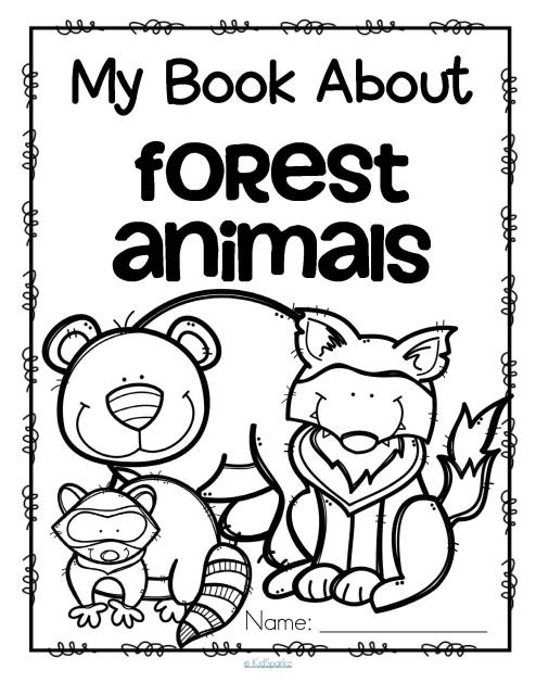 Wild animals and zoo activities for preschool, prek and