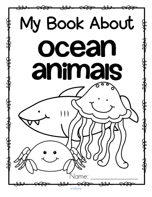 Oceans activities for preschool, prek and kindergarten